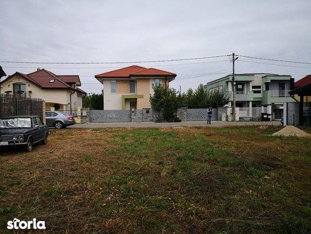 Teren asfalt,utilitati,690 mp,pozitie ideala, Dumbravita Cora Aradului