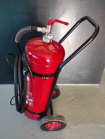 Пожарогасител АВС прахов - 50 кг.