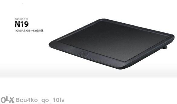 Модел 2014г Оригинален Алуминиев Охладител за лаптоп, Ноутбук Ергост