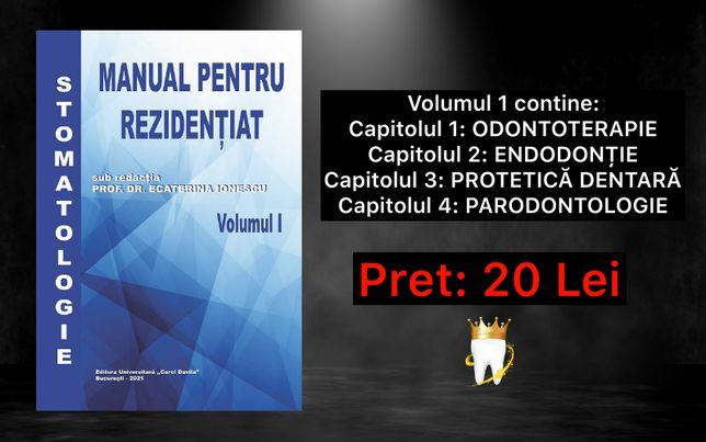 Rezidentiat Medicina Dentara Volumul 1 Materie 2021- Update 25.02.2021