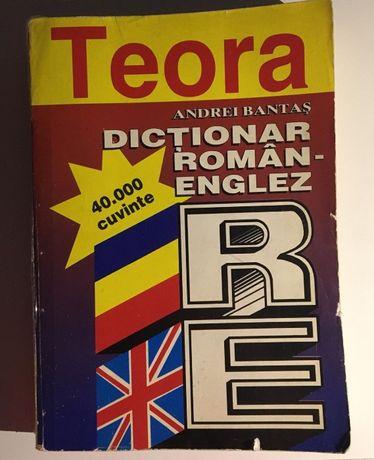 Dictionar roman-englez (40.000 de cuvinte) - de Andrei Bantas
