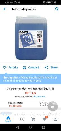 Detergent pentru geamuri SQUILL DG-F5