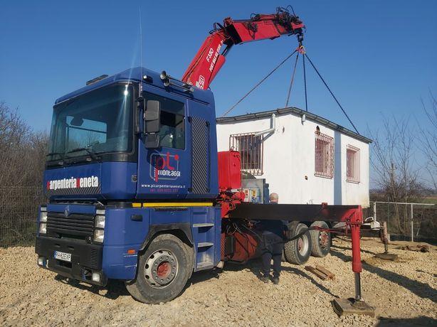 Vanzare sau închiriere camion cu macara 15 t