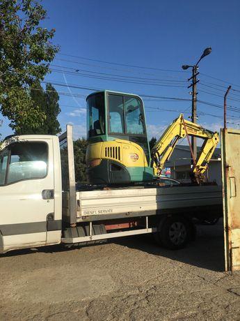 Inchiriez Excavator Miniexcavator si BobCat