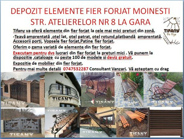 Magazin Fier Forjat Moinesti