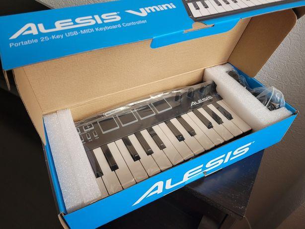 Alexis V mini black midi keyboard клавиатура
