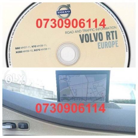 DVD Navigatie VOLVO S80 V70 XC60 XC70 C30 C70 S40 XC90 V50 RTI MMM+ 2