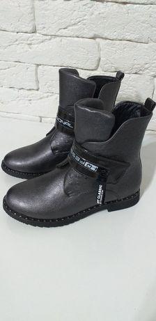 Осенние сапоги для девочек. Алматы обувь.