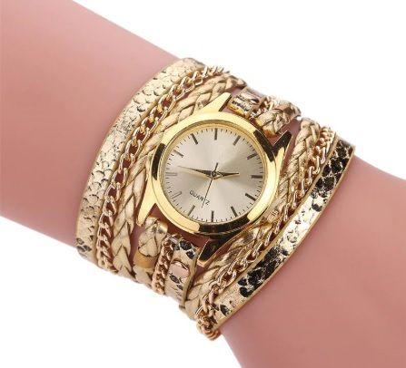Дамски Ръчен Часовник - Гривна