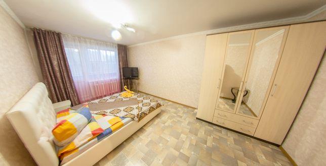Однакомнатная квартира Посуточно - Понедельно в Центре. КТВ / Wi-Fi.