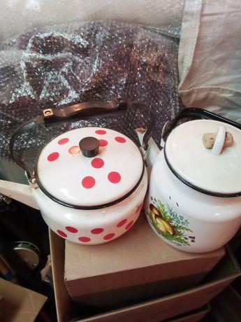 Продам амалированые чайники совершенно новые