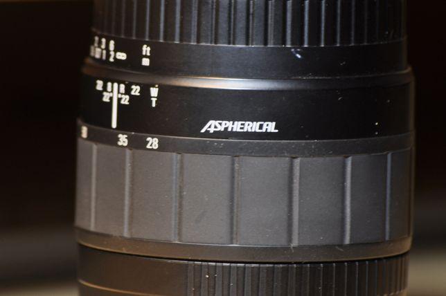 Obiectiv foto AF Sigma 28-80 1:3.5-5.6 Aspherical pentru Canon