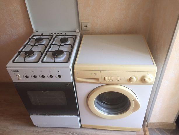 газплита стиральная машина