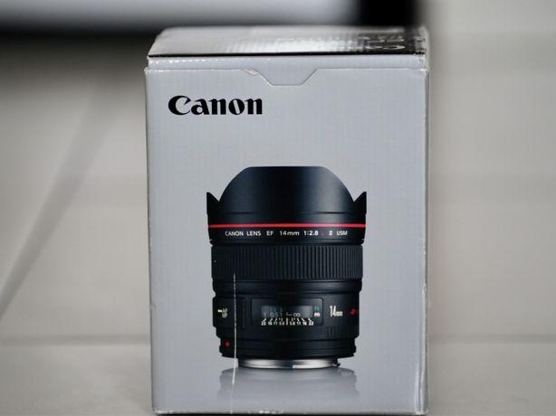 Canon EF 14mm Obiectiv Foto DSLR F2.8L II USM Nou! 0 cadre !