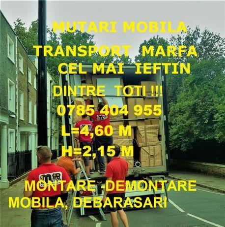 o785/4o4955Transport IEFTIN CRAIOVA marfă,Mutări Mobila Manipulanți