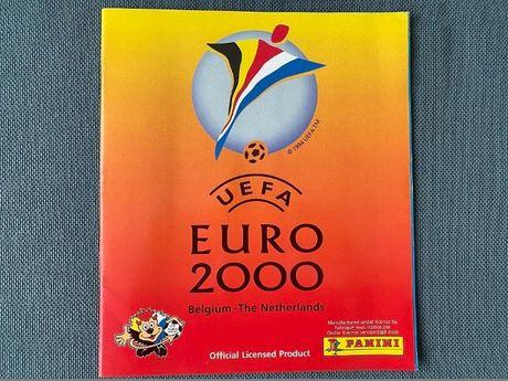 Panini Euro 2000 Olanda Belgia Album Original Gol Stare Foarte Buna!