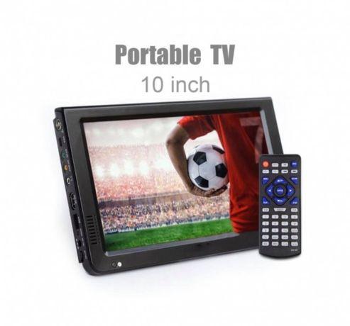 Портативен телевизор с цифров тунер DVB-T2 LEADSTAR D10 10.1 инча