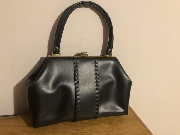 Vând geanta vintage din piele