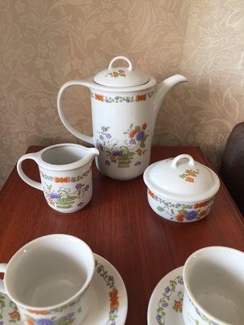 Кофейный фарфоровый сервиз ГДР