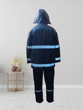 Jacheta de iarna reflectorizanta cu gluga