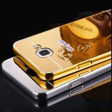 Огледален Кейс /Бъмпер за Samsung Galaxy A5 2016г и 2017г алуминиев А5