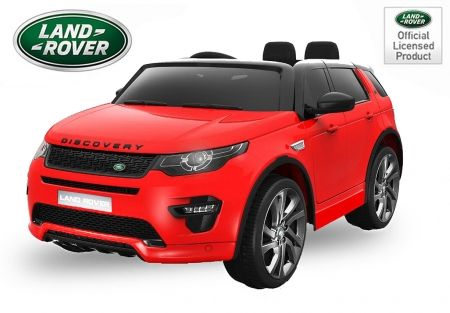 Masinuta electrica Kinderauto Land Rover Discovery DELUXE Cu MP4 #RED