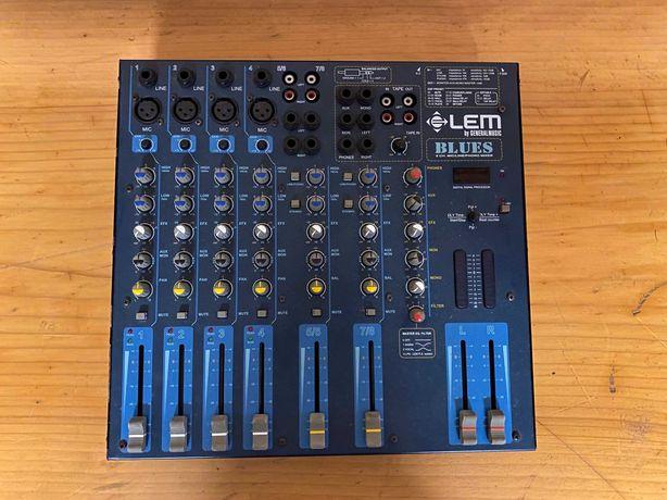 Mixer Pasiv cu efecte Lem Blues ca Behringer,Proel,Yamaha,Alesis