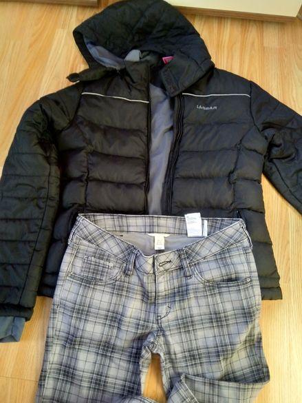 Зимно яке и дънки