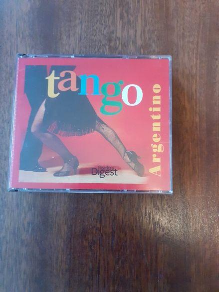 "CD албум от 3 броя CD и книжка – ""Аржентинско танго"""