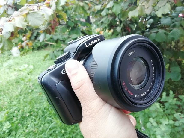 Kit Panasonic/Lumix G3 +14-42 Mega OIS+ adaptor Nikon