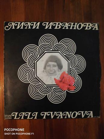 Лили Иванова: стари аудио плочи