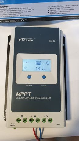 Regulator Controller solar fotovoltaic MPPT 20A 30A 40A Epever Tracer