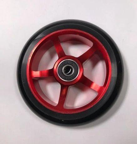 Колеса для трюкового самоката 100 мм синее,красный, черный