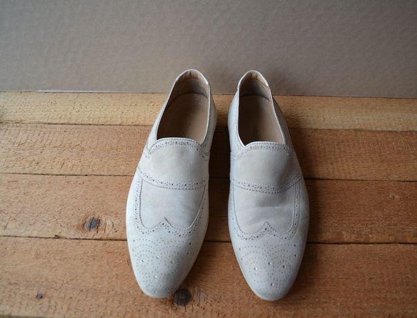 Pantofi din piele intoarsa Giorgio Armani 42-43 (27.5cm)