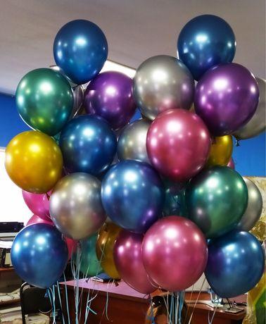 Геливые шары, шары на выписку, дни рожедния. Цифры, надписи.