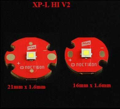 Emitter LED XP-L HI , XM-L2 , XP-G2, NICHIA , SST20 , SST40 baza cupru