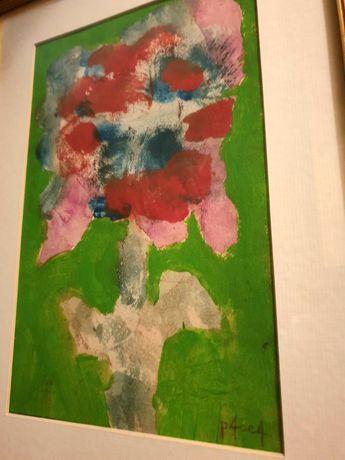 """Tablou pictura Ion Pacea """"Vas cu flori"""""""