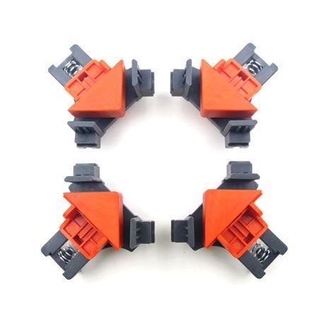 2x Dispozitiv de tensionat in colt menghina unghi 90 coltar placa lemn