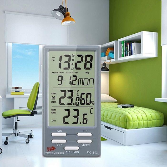 МЕТЕОприбор (гигрометр/термометр) + подарок Атырау - изображение 1