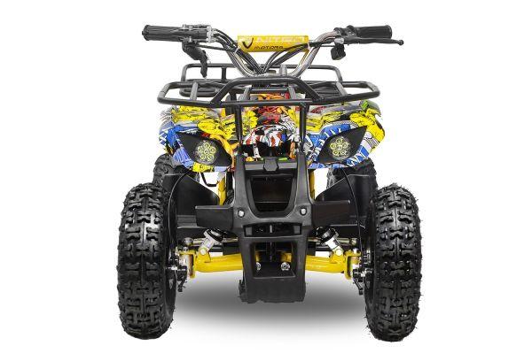 Mini ATV electric pentru copii NITRO Torino Quad 800W 36V #Galben