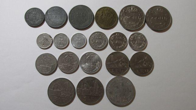 Lot 20 monede romania inainte de 1989