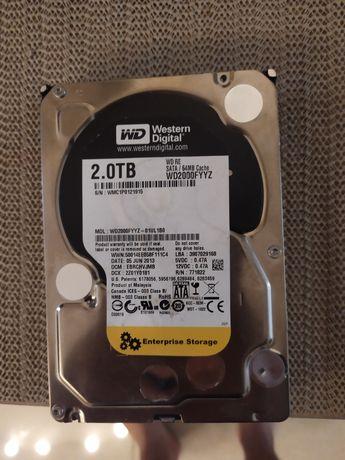 HDD 2TB, sata 3, Western Digital