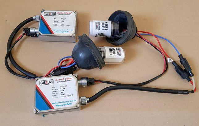 Set complet lumini Xenon Cartech, becuri + balast HID