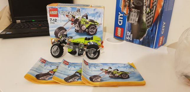 Lego creator motocicleta