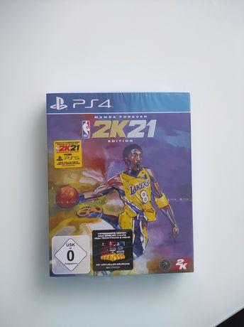 Joc NBA 2k21 limited edition nou sigilat. Ps4/ps5