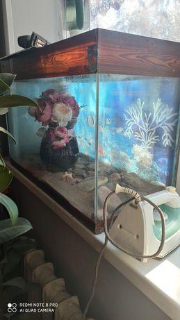 Продаю аквариум и аксессуары