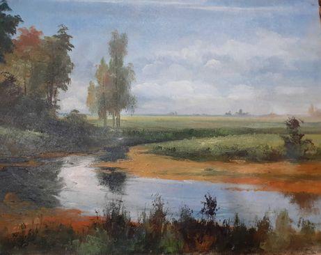 """Картина Орлова Евгения """"Лето"""" 1997 г. Холст, масло."""