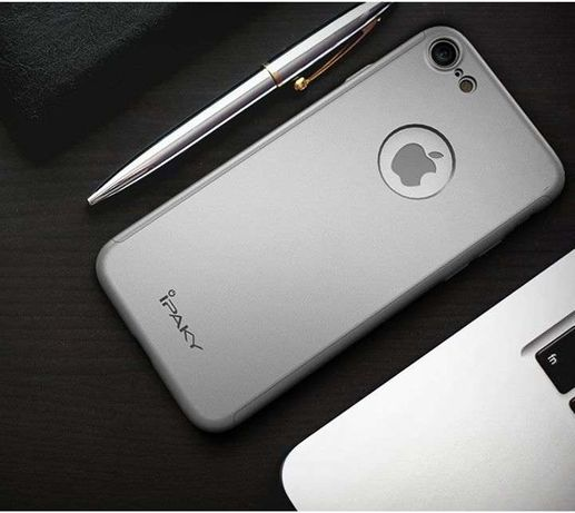 Iphone 7 - Ipaky case 360 grade + folie sticla