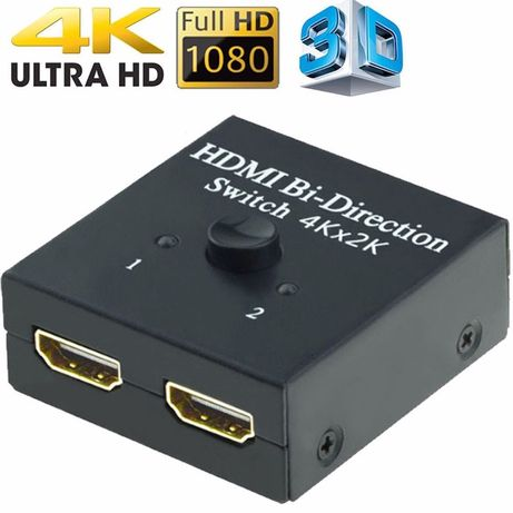 Switch Hub HDMI 4K Full HD 3D 2in1 Bi Directional HDMI 2.0 NOU PS4