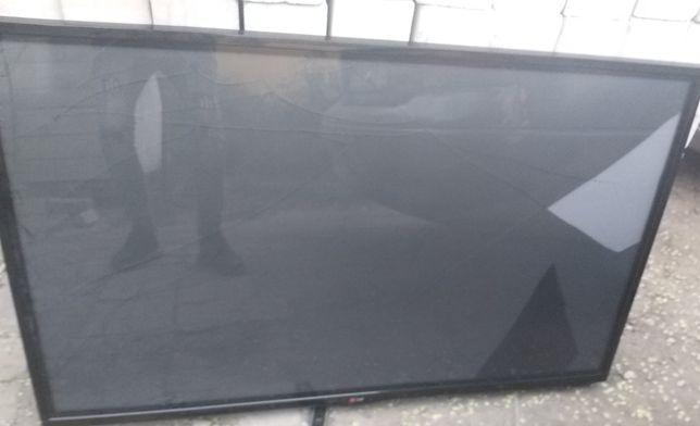 Плазменный тв LG,127 см,трещина экран,на з/ч или отремонтировать
